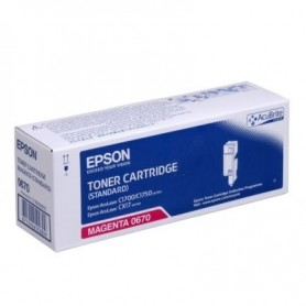Epson Toner Cartridge Magenta 0670