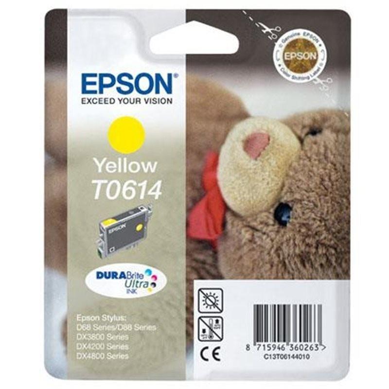 EPSON Cartuccia Originale T0614 - Giallo