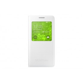 Samsung Galaxy Alpha S View Cover Bianco - originale