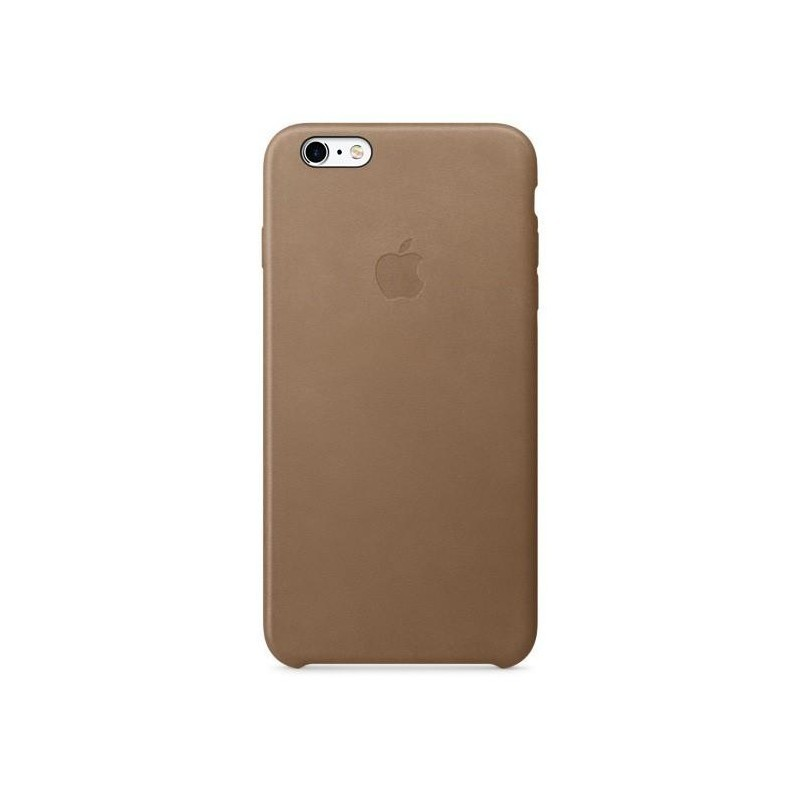 APPLE - IPHONE 6 S PLUS - COVER CUSTODIA IN PELLE - MARRONE - ORIGINALE APPLE MKX92ZM/A