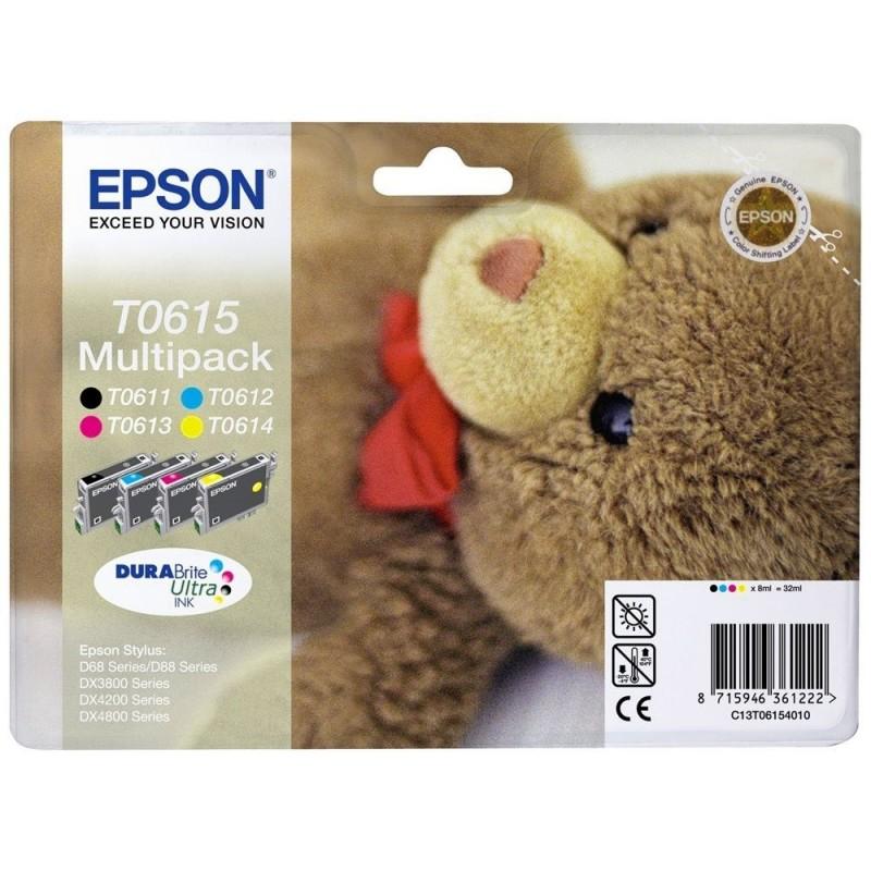 EPSON Cartuccia originale T0615 Multipack