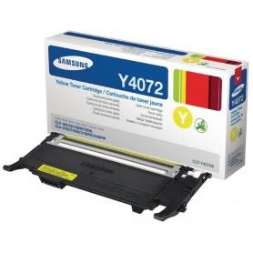 Samsung Y4072 CLT-Y4072S TONER ORIGINALE GIALLO PER CLP320 CLP325