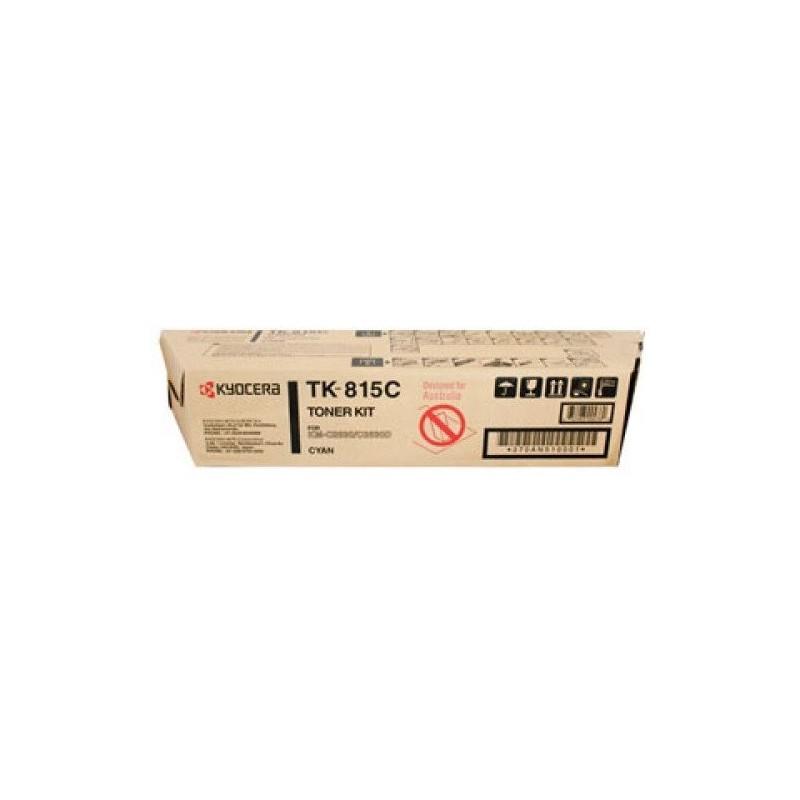 Kyocera TK 815C Kit toner originale - CIANO