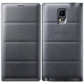 Samsung Flip Wallet Cover Galaxy Note 4 - GRIGIO/NERO