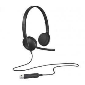 Logitech H340 981-000475 Cuffia con microfono Stereo
