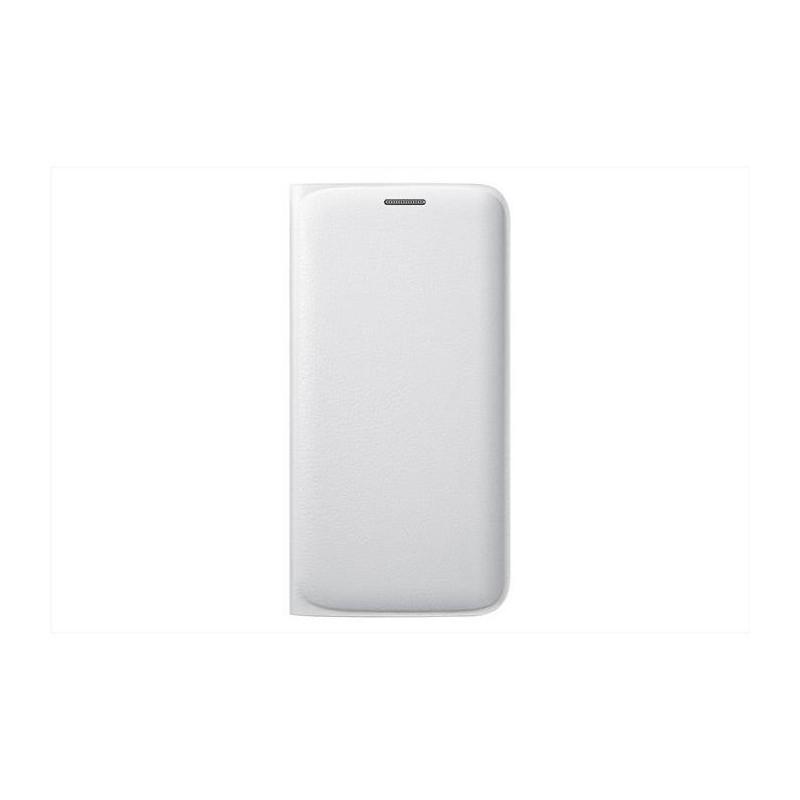 SAMSUNG - Galaxy S6 edge - Flip Wallet - EF-WG925PWE - Bianco