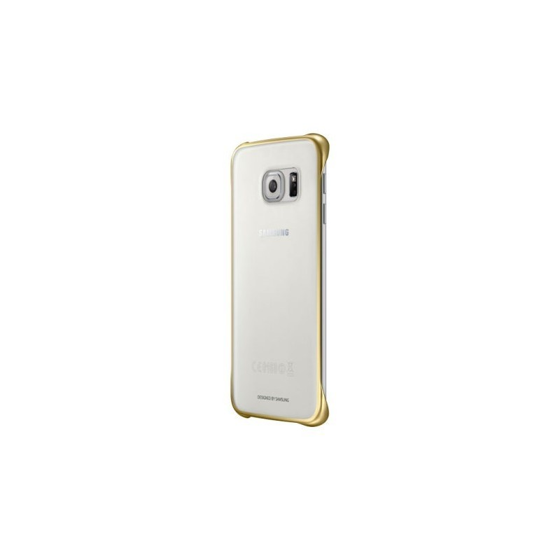 SAMSUNG - Galaxy S6 EDGE plus - Clear Cover - EF-QG928CFE - Trasparente/Gold