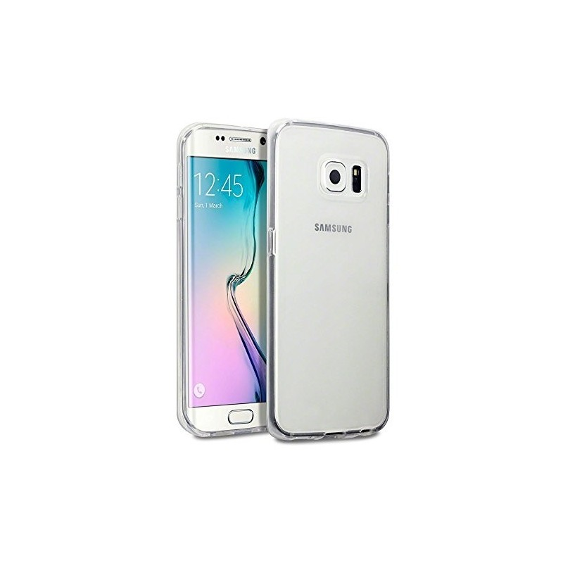 SAMSUNG - Galaxy S6 Edge plus - Clear Cover - EF-QG928CSE - Trasparente/Silver