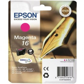 EPSON CARTUCCIA 16 MAGENTA PER EPSON WORKFORCE