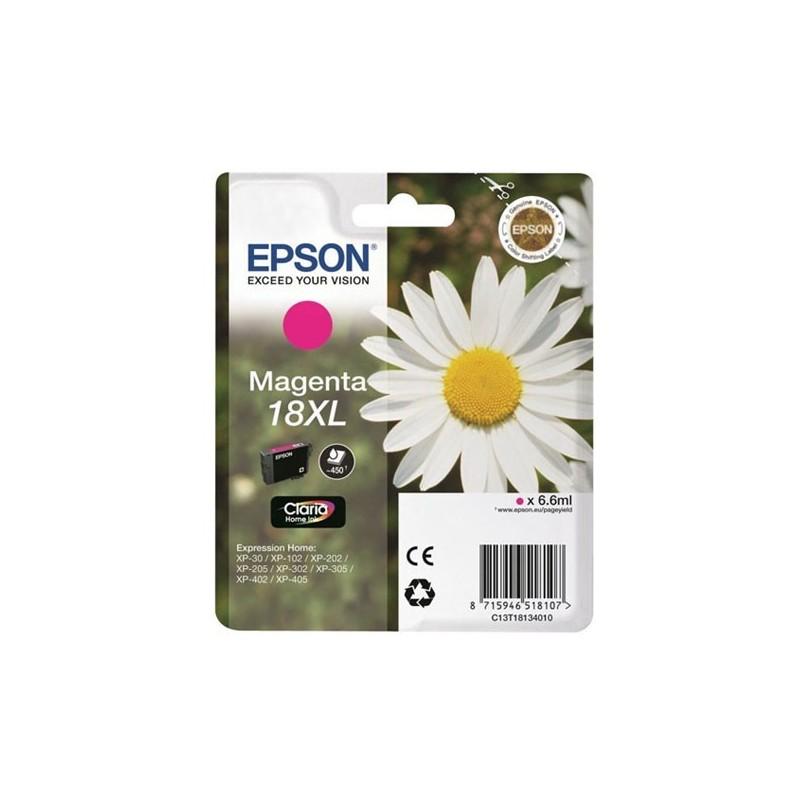 EPSON Cartuccia Originale 18 XL - T1813 XL - 6.6ml - Magenta