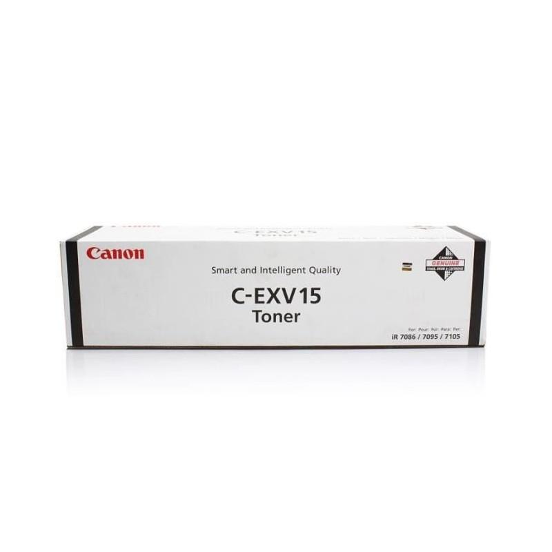 Toner CANON C-EXV15 originale - Nero - 0387B002