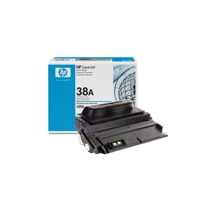 HP Q1338A 38A TONER ORIGINALE NERO LaserJet 4200 4200L