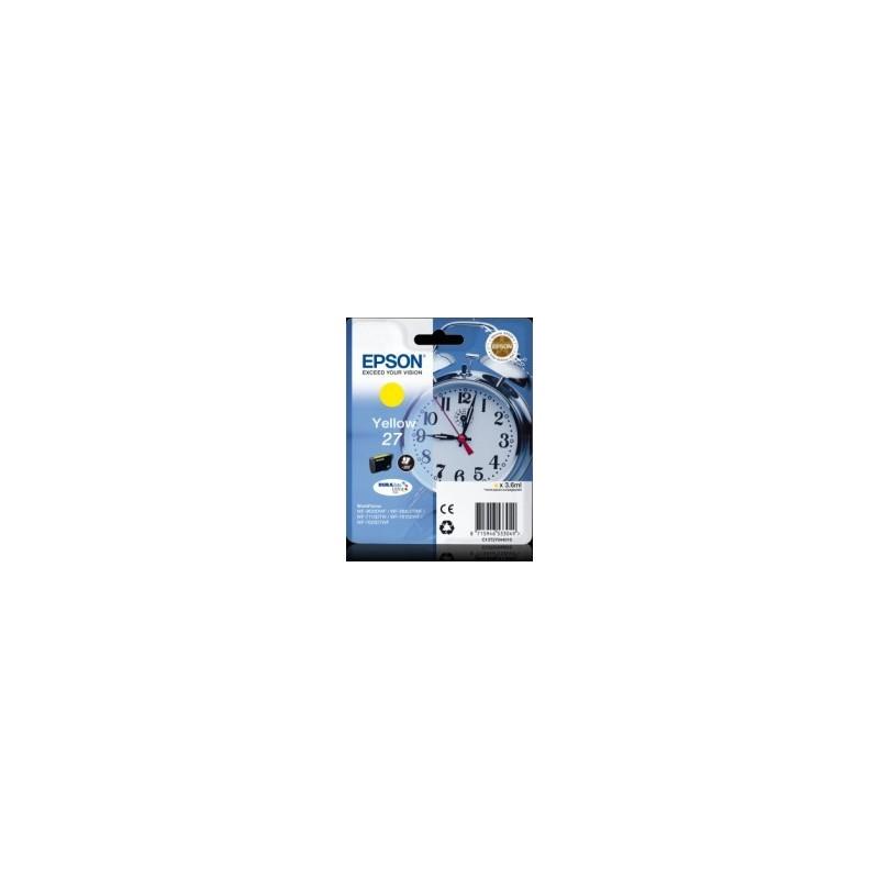 EPSON Cartuccia originale 27 - GIALLO - T2704