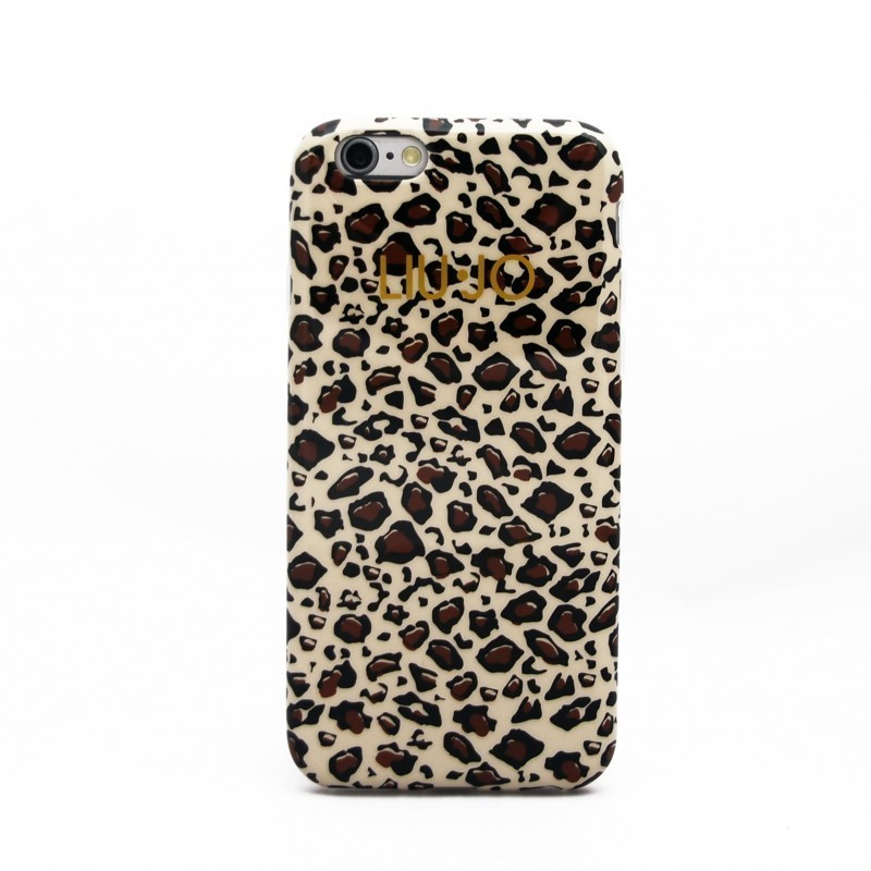 Cover per iphone 6 PLUS - Liu-Jo - Leopardata - LJ6PLEOB