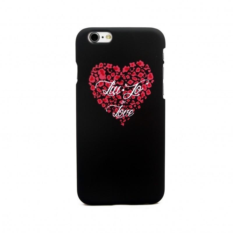 Cover per iphone 6 PLUS - Liu-Jo - LOVE NERA - LJ6PLOVEK