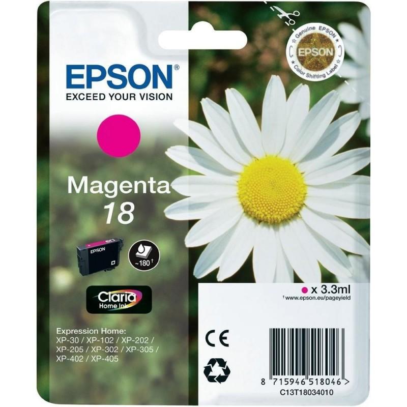 EPSON Cartuccia originale 18 - T1803 - 3.3ml - MAGENTA
