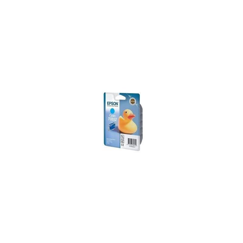 EPSON Cartuccia Originale T0552 - Ciano