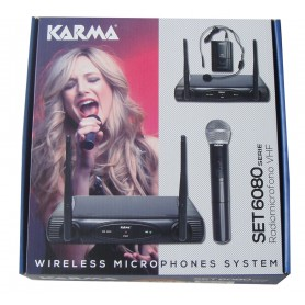 KARMA SET6080D RADIOMICROFONO VHF