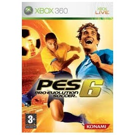 PES 6 - Pro Evolution Socces - Xbox 360