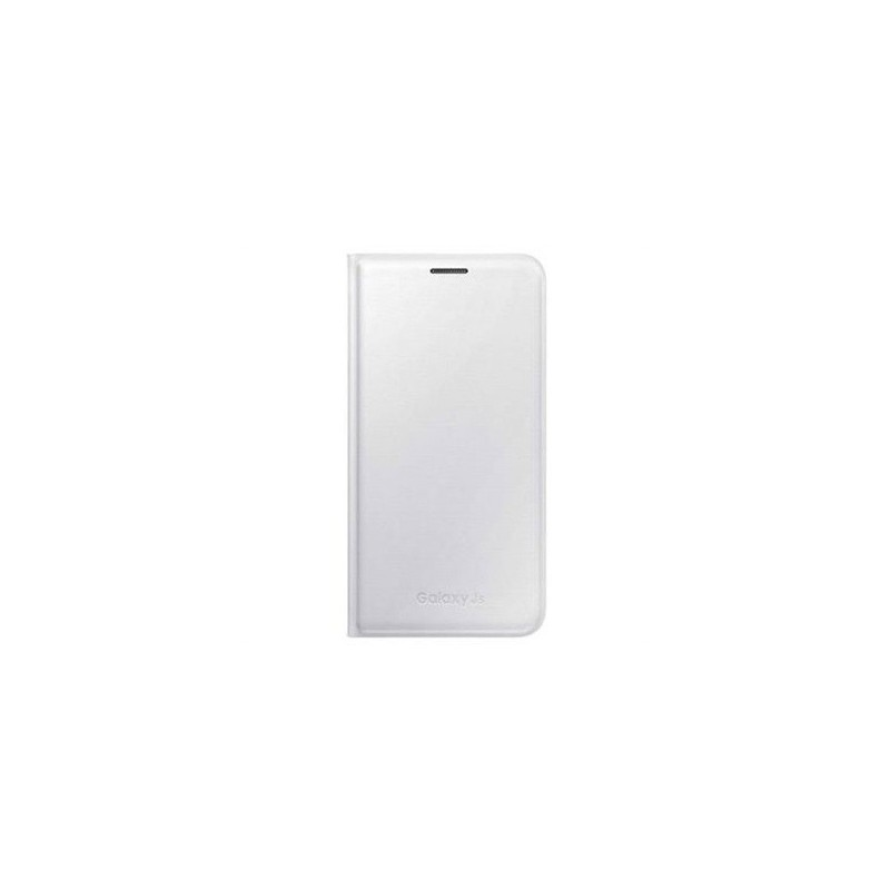 SAMSUNG - Galaxy J5 - Flip Wallet - EFWJ500B - Bianco