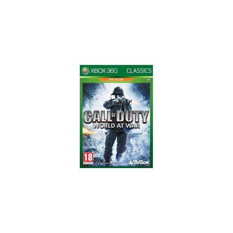 Xbox 360 - Call of duty world ad wat