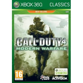 xbox 360 - call of duty 4 modern warfare