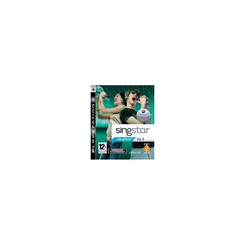 SINGSTAR - Volume 3 - Playstation 3