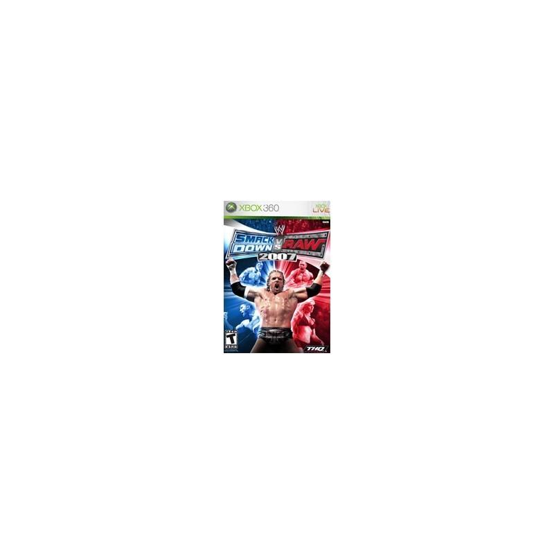 SMACK DOWN VS RAW 2007 - Xbox 360