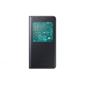 Samsung Galaxy Alpha S View Cover Nero - originale