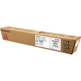 TONER RICOH MP C305 MAGENTA - EDP CODE 842081 - ORIGINALE