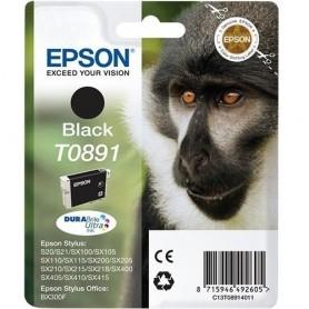 EPSON CARTUCCIA T0891 NERO PER EPSON STYLUS SX415 SX410 SX405WiFi SX405
