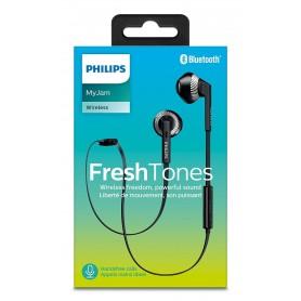 Philips SHB5250BK Auricolari Bluetooth con Microfono