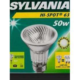 SYLVANIA LAMPADA ALOGENA HI SPOT 63 - 50W E27 FL 25°