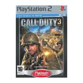 PLAY STATION 2 - CALL OF DUTY 3