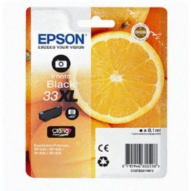 EPSON INKJET 33 XL T3361 PHOTO NERO