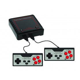 Lexibook JG7800 - TV Console con 300 Giochi Vintage Retro 8 e 16 bit 2 controller
