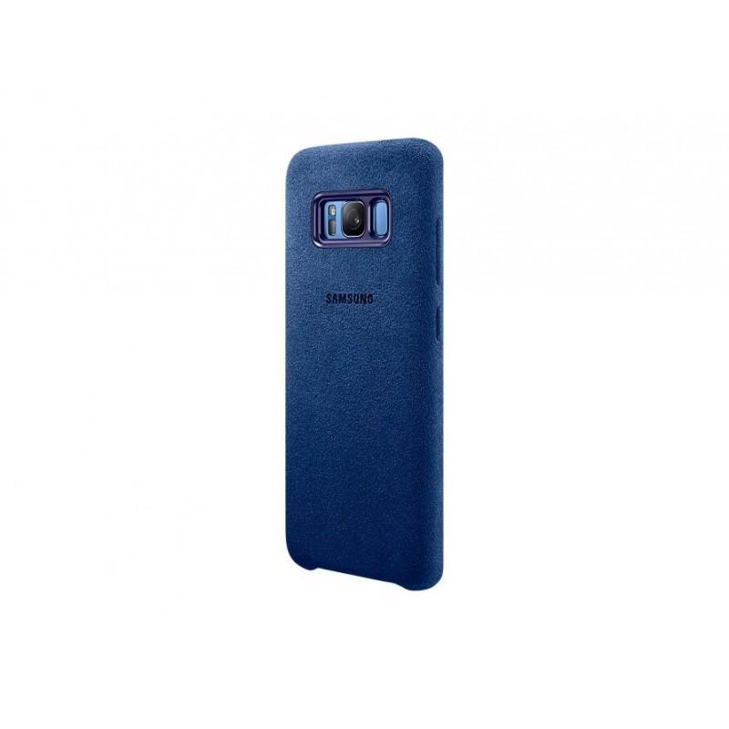 Samsung EF-XG950ALEGWW Cover Alcantara Galaxy S8 Colore Blu