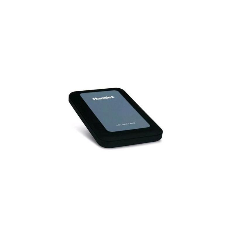 HAMLET HXD25U3MBK BOX USB 3.0 PER HDD SATA FORMATO 2.5' (HDD NON INCLUSO)