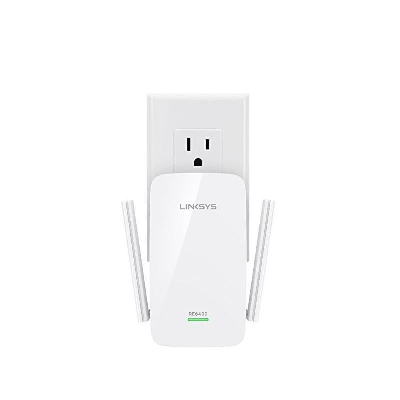 LINKSYS RE6400 Range Extender Dual Band Wi-Fi AC1200 1 Gigabit Ethernet