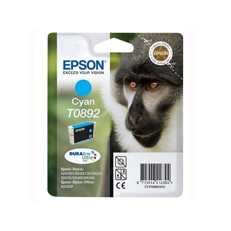 EPSON Cartuccia T0892 Ciano - ORIGINALE