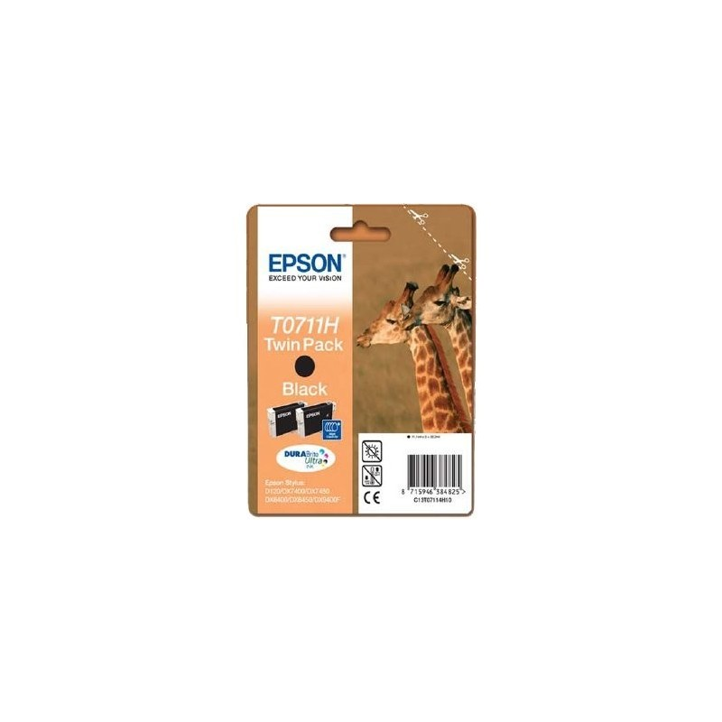 Epson InkJet Cartuccia GIRAFFA T0711H ( 2 x T0711) C13T07114H20