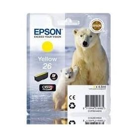 EPSON Inkjet Cartuccia Originale 26m - Giallo