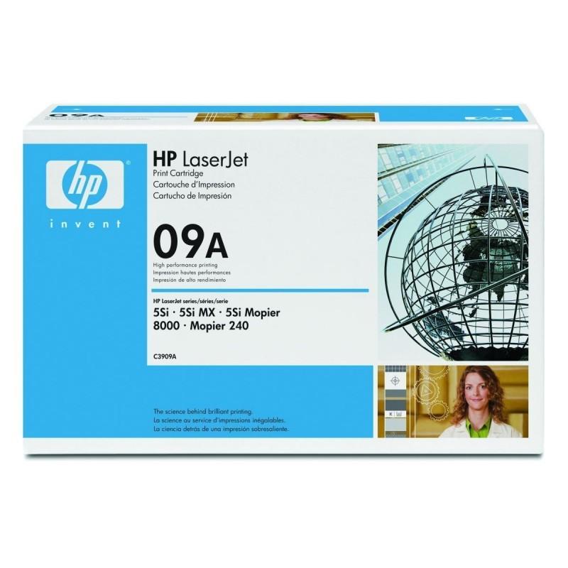 HP 09A C3909A TONER ORIGINALE NERO Laserjet 5SI 5SIMX 5SI