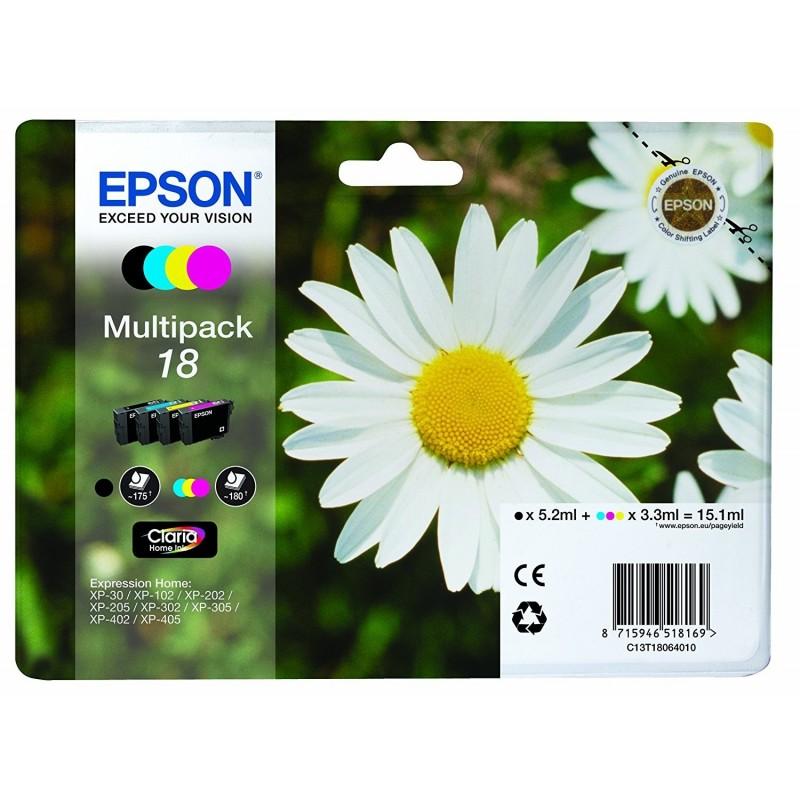 EPSON Multipack Cartuccia Originale 18 T1806