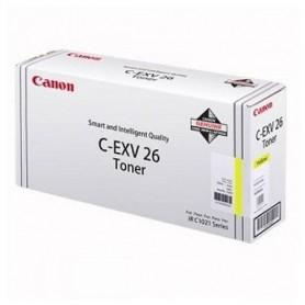 CANON C-EXV 26 1657B006 GIALLO TONER ORIGINALE CANON IR C1021I C1028I C1028IF