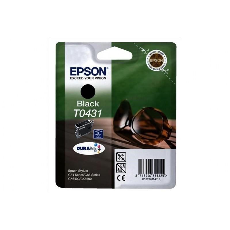 EPSON T0431 NERO - CARTUCCIA ORIGINALE - C13T04314010