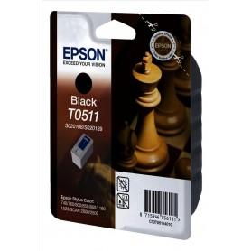 EPSON T0511 NERO - CARTUCCIA ORIGINALE - C13T05114020