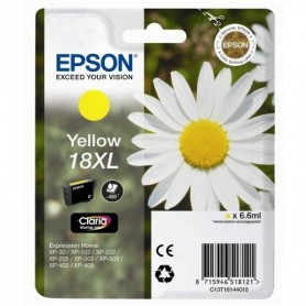 EPSON Cartuccia Originale 18 XL - T1814 XL - 6.6 ml - Giallo